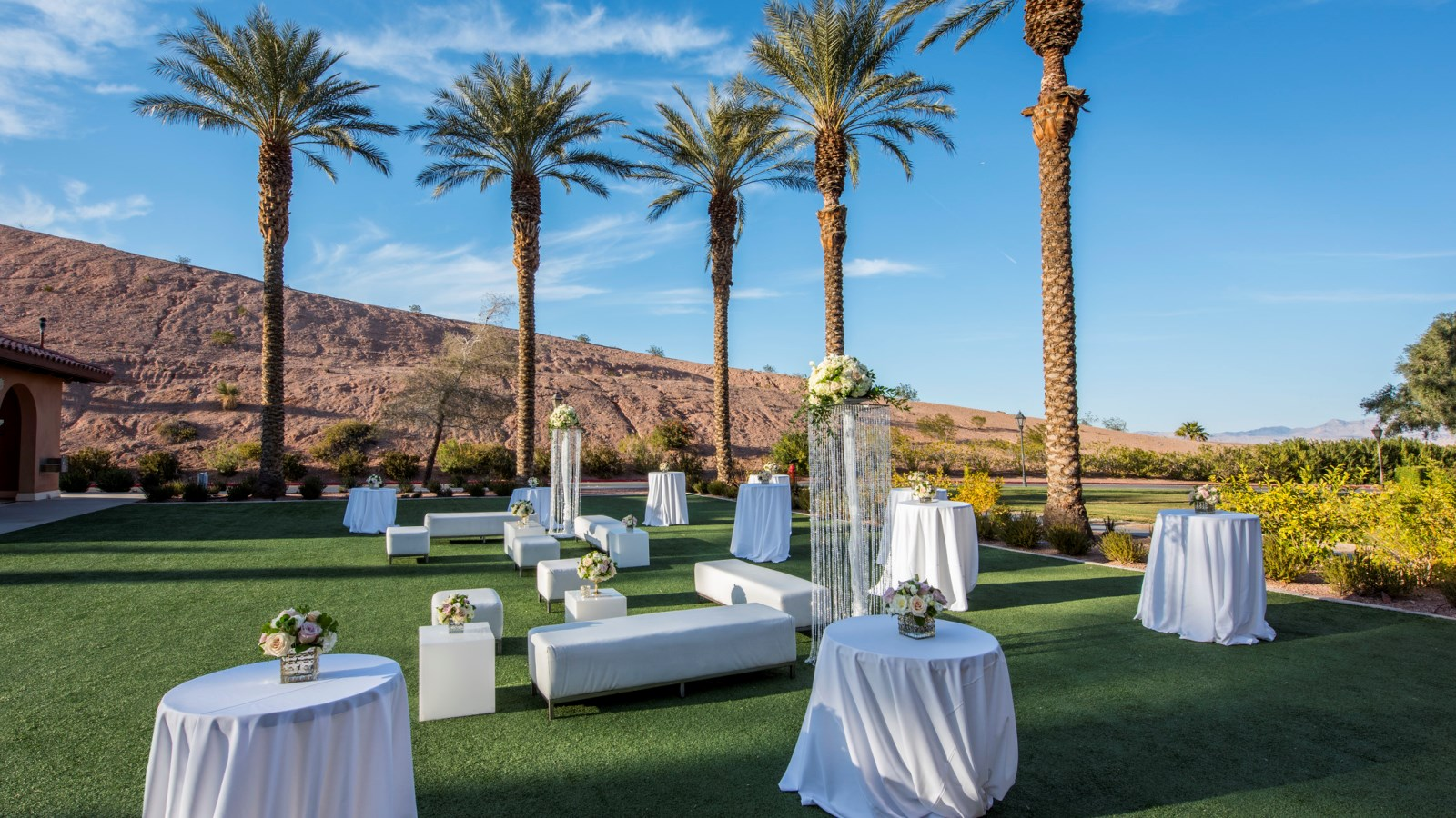 Lake Las Vegas Wedding Venues - La Menzah Lawn