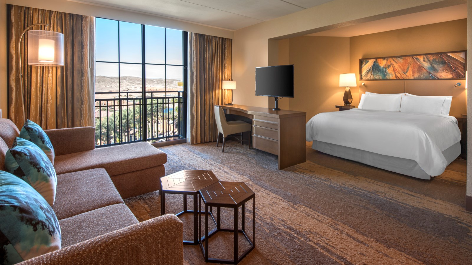 lake las vegas hotels - deluxe junior suite